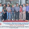 Piping System - Mechanical Design and Specification batch 2 2016